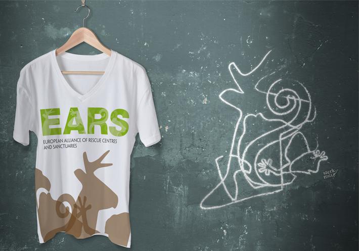 branding t-shirt EARS