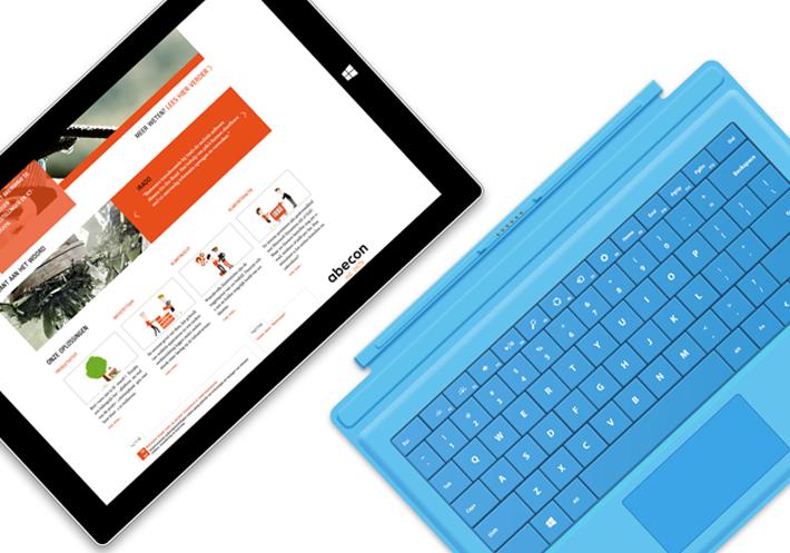 communicatie en vormgeving website